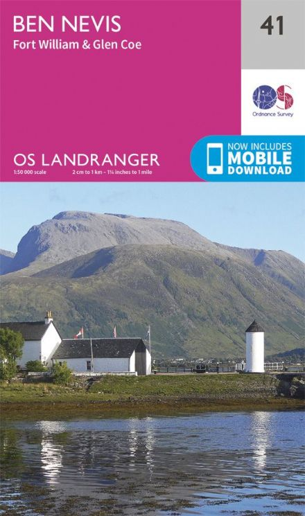 OS Landranger 41 Ben Nevis and Fort William